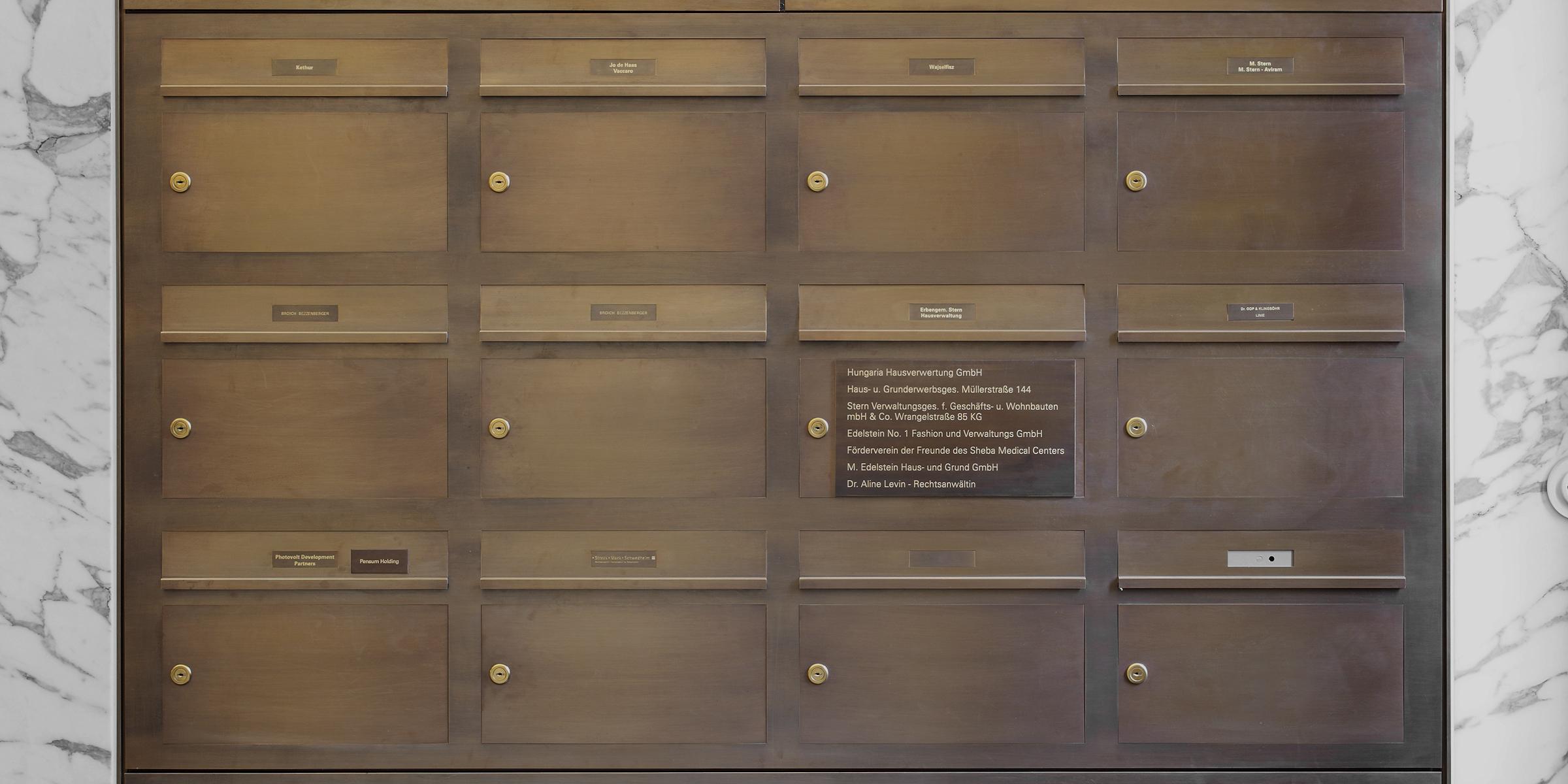Briefkastenanlagen Inoplan - Lippert Website